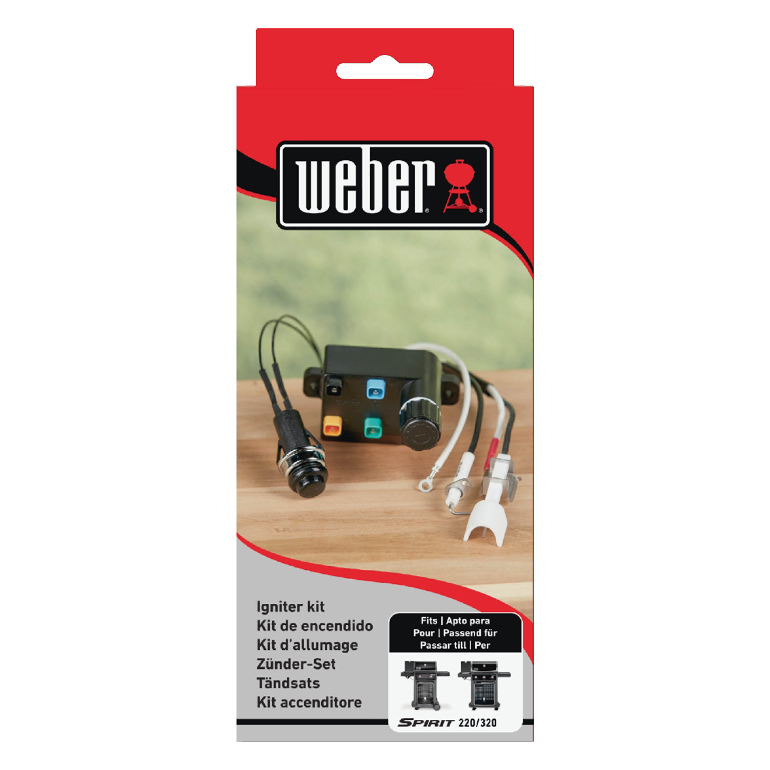 Weber 7643 Igniter Kit for Spirit 300 Series Gas Grills
