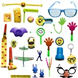 THE BEST 100 Party Favor Toy Assortment for Pinata Fillers, Classroom Rewards, Birthday Party, Carnival Prizes, goodie bags fillers, treasure box prizes for classroom, kids party favors in bulk