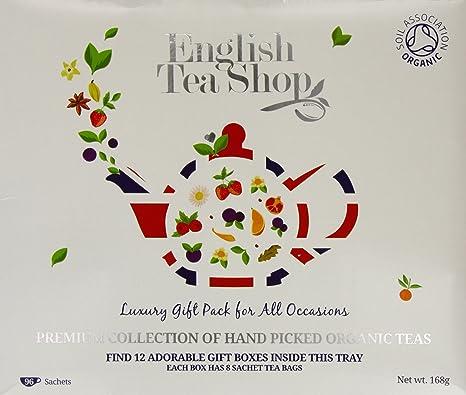 Image ofEnglish Tea Shop Organic Luxury Gift Tray (Pack of 96 Tea Bags)
