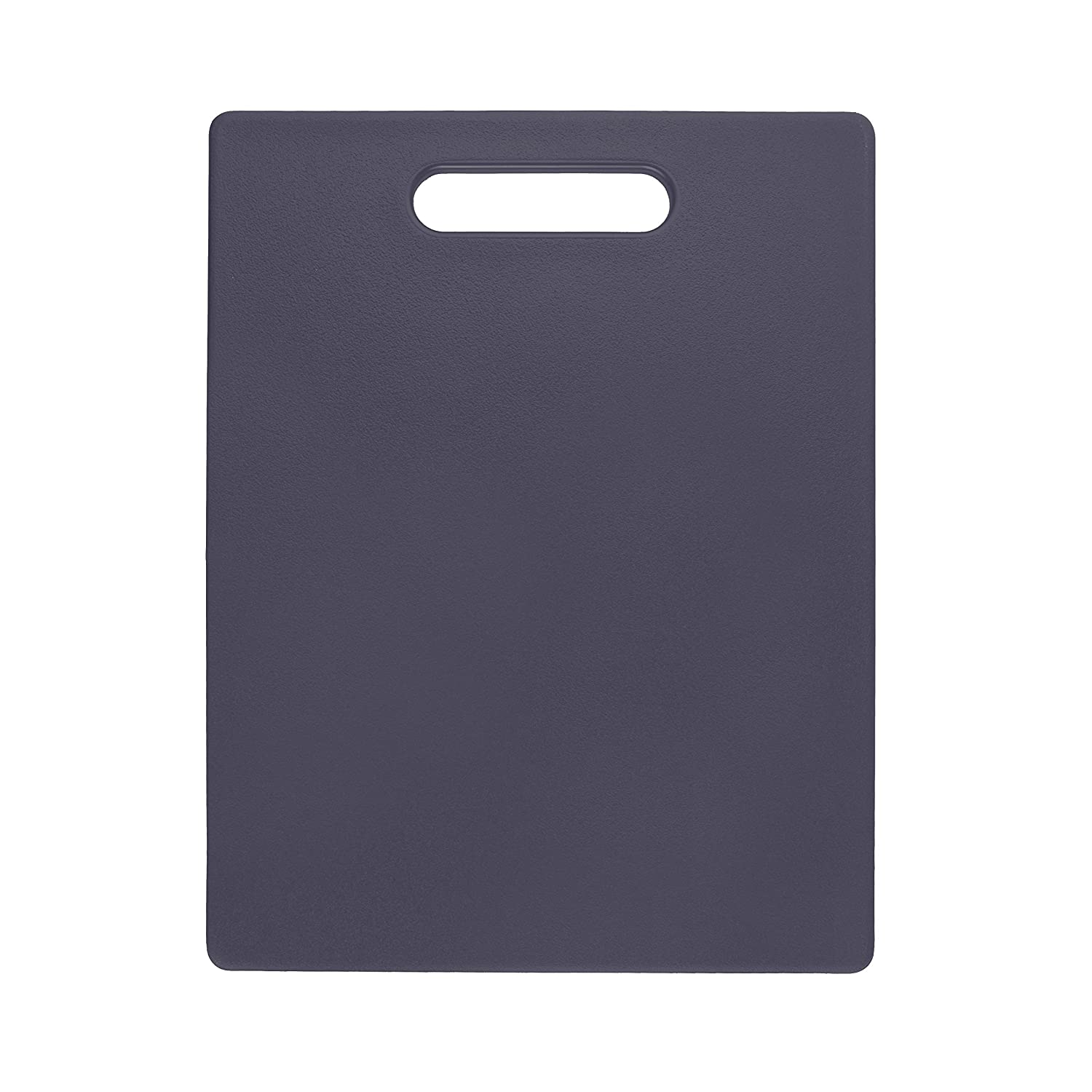 Dexas Classic Jelli Cutting Board with Handle, 6 by 10 inches, Gray 409-J432
