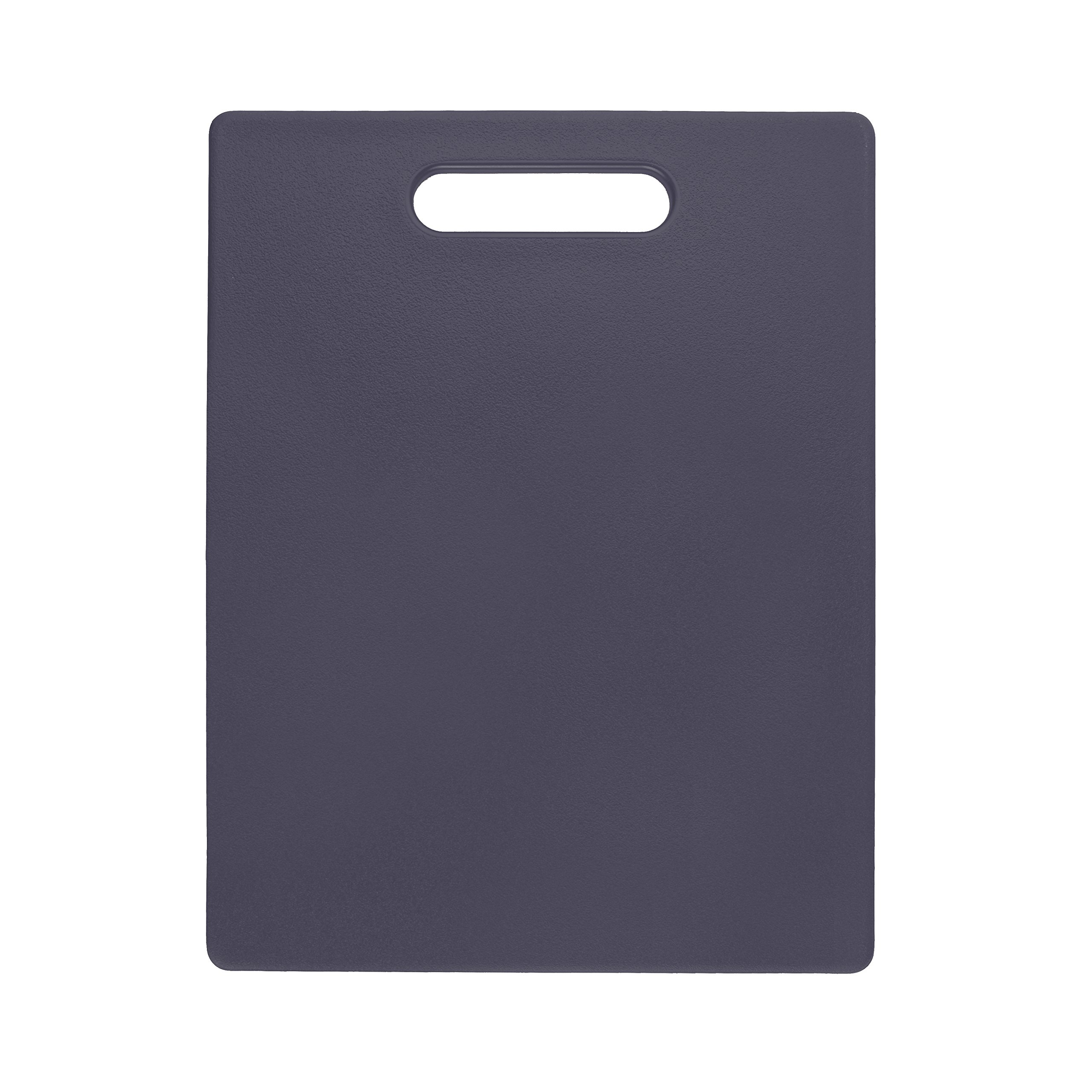 Dexas Classic Jelli Cutting Board with Handle, 11 by 14.5 inches, Gray