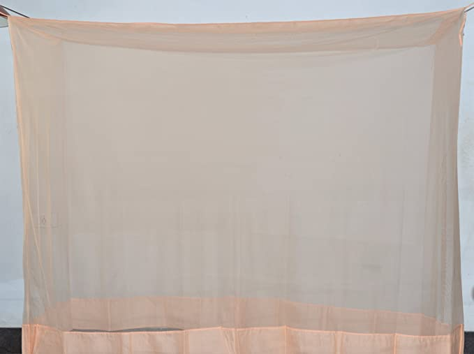 Fashion Centre Polyster Mosquito net 5*6.5ft, Peach
