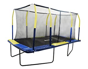 Upper Bounce Fiber Flex Enclosure Feature Rectangular trampoline