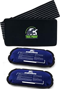 Ice Packs with wrap - Hot and Cold Therapy Reusable Gel Packs Helps Alleviate Joint Pain, Muscle Soreness | Supports Injury Recovery, Back Pain Relief