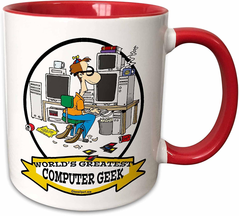 3dRose 167015/_4 Wieners Cute Believer Design Two Tone Mug 11oz Black