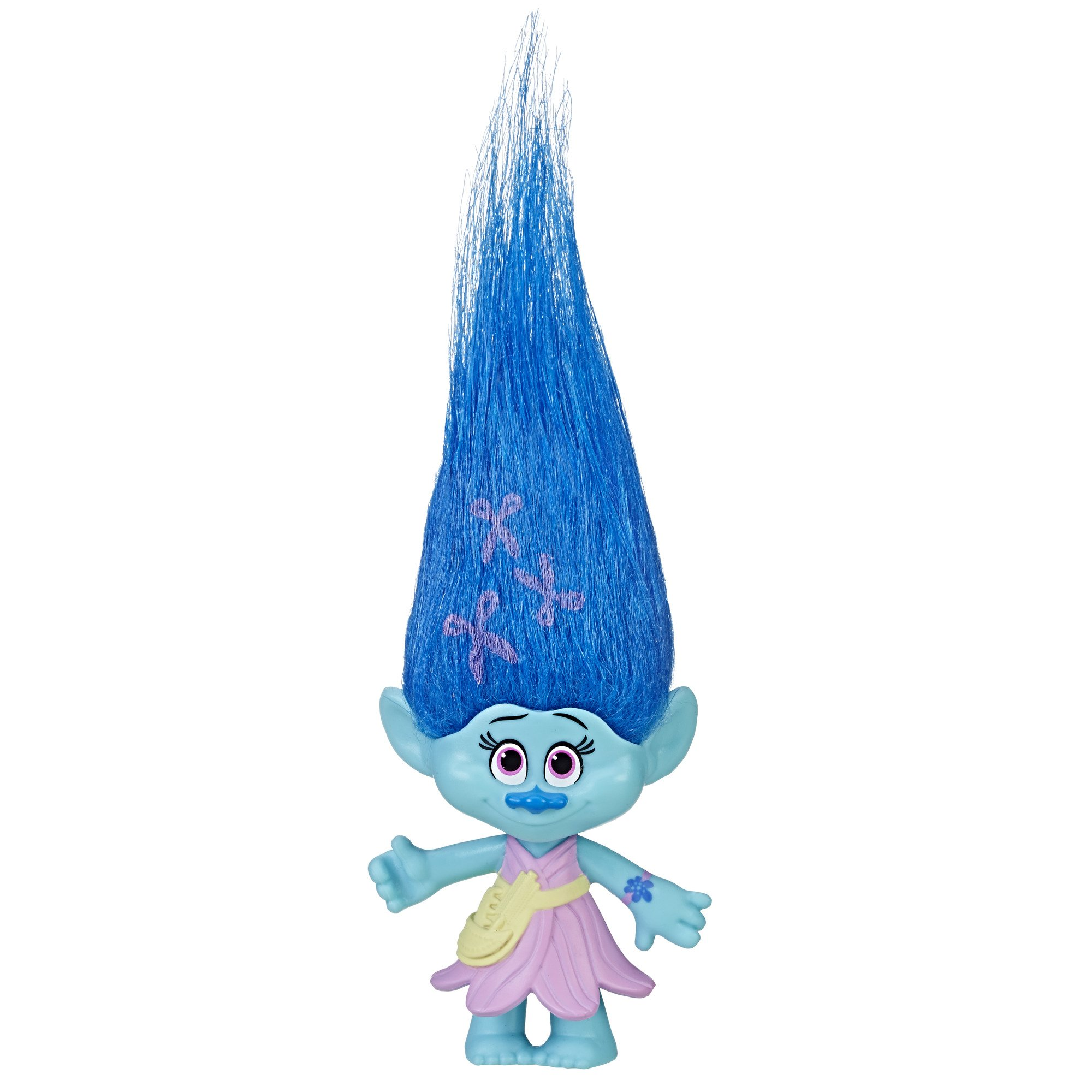 Trolls DreamWorks Maddy Collectible Figure with Printed Hair