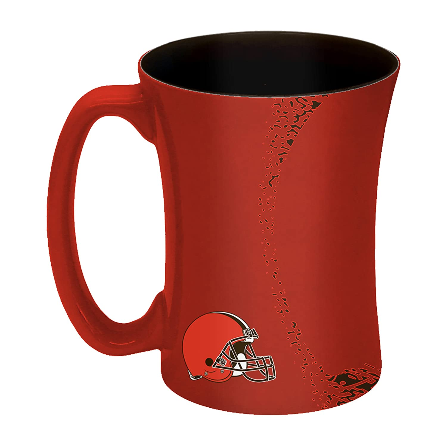 NFL Cleveland Browns Sculpted Mocha Mug 14-ounce
