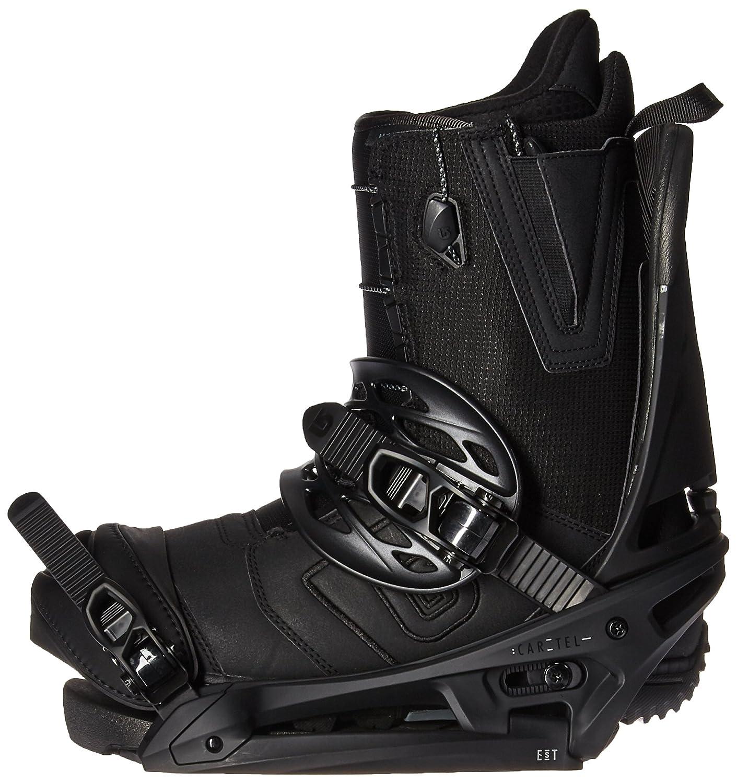 Burton Cartel EST Snowboard Bindings Black Matte Sz S (6-8)