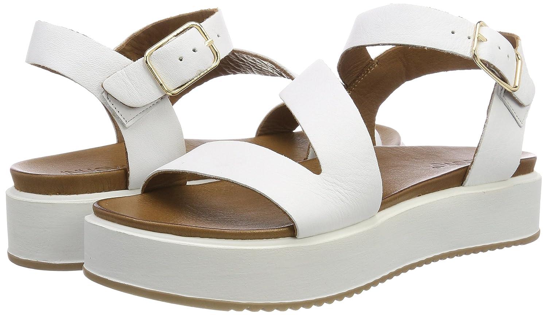 Inuovo (Weiß) Damen 8722 RiemchenSandale, Weiß (Weiß) Inuovo 976181