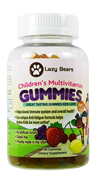 Amazon.com: Lazy Bears Kid s completo Multi Vitaminas de ...