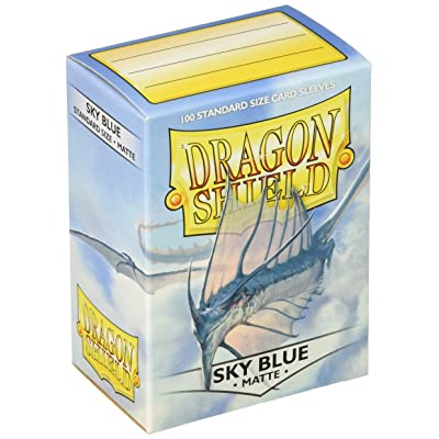 Dragon Shield Sleeves Matte Sky Card Game, Blue - AT-11019: Toys & Games