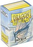 Arcane Tinman AT-11019 Dragon Shield Sleeves Matte Sky Card Game, Blue