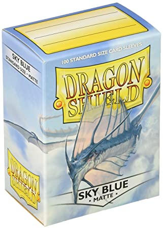 Dragon Shield Sky blue Matte, Fundas Estándar, azul cielo ...