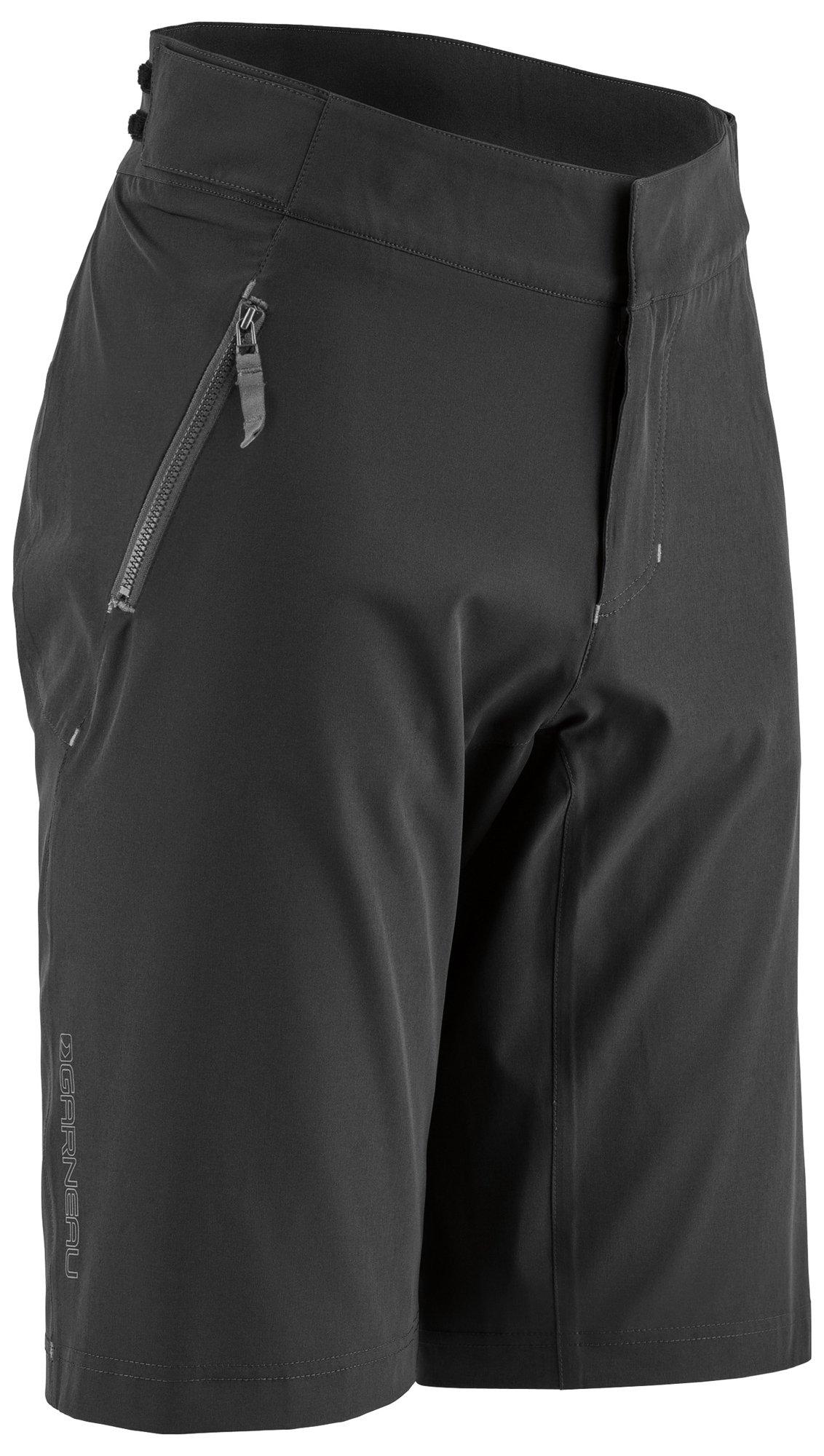 Louis Garneau Men's Leeway Bike Shorts, Black, XX-Large