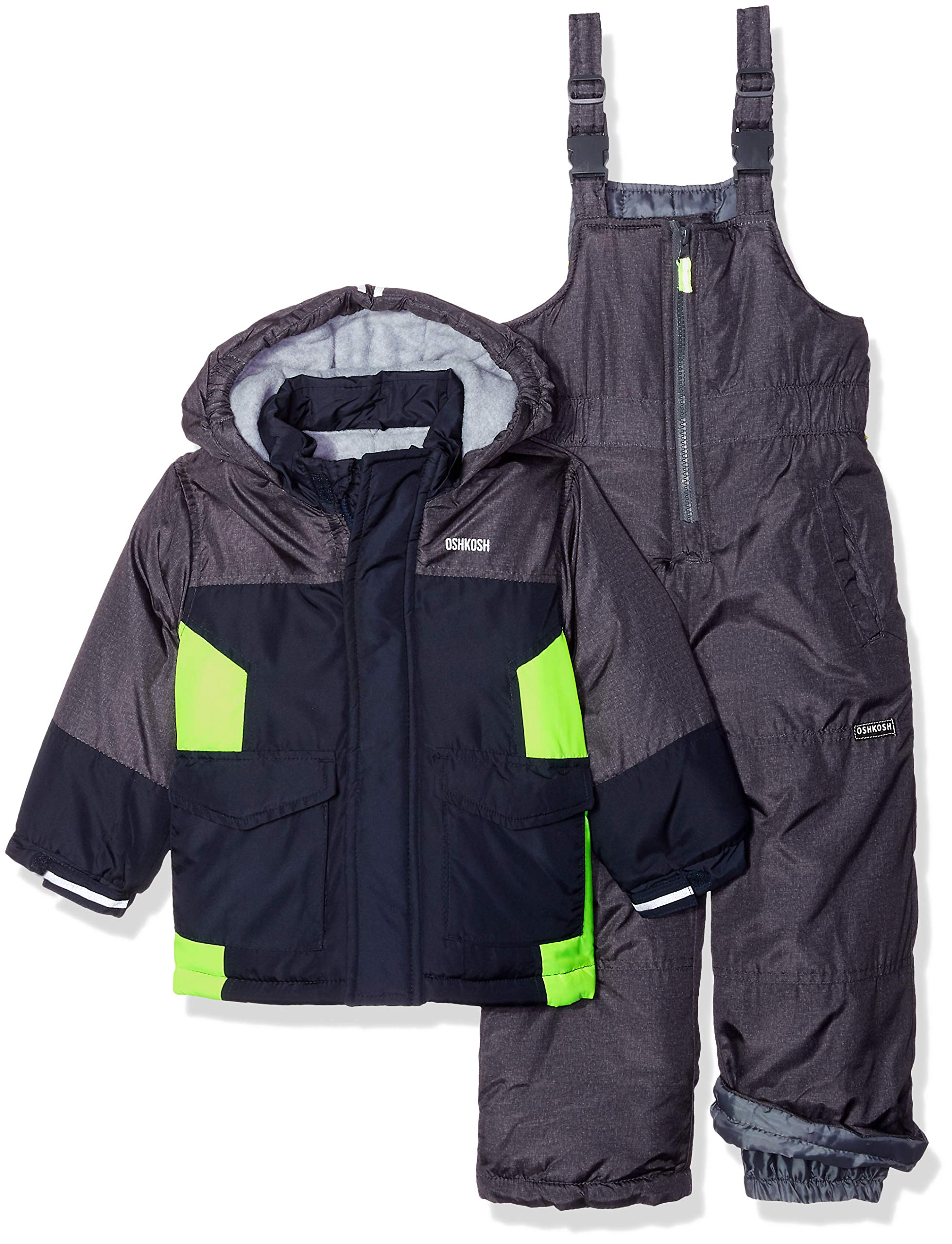 e533911c33dd Galleon - OshKosh B Gosh Boys  Toddler Ski Jacket And Snowbib ...