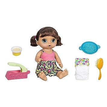 9a72be26e9 Boneca Baby Alive Adoro Macarrão Hasbro Morena  Amazon.com.br ...