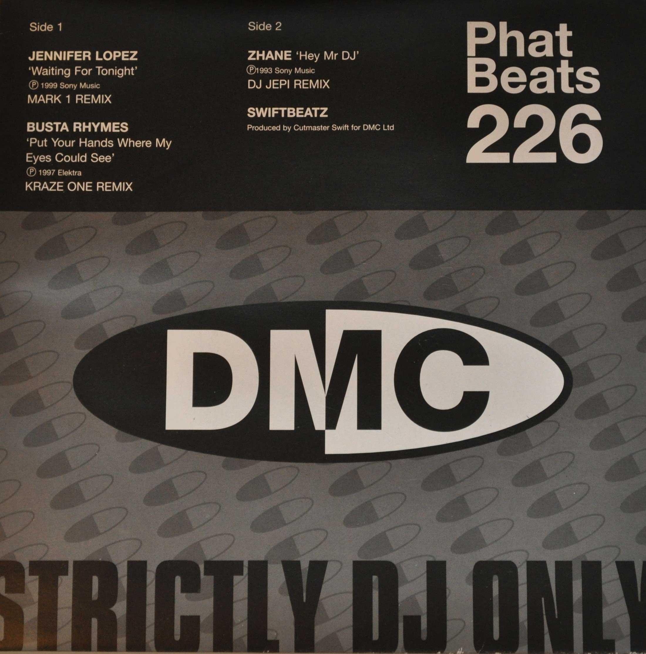 DMC Phat Beats 226 Feat. Busta Rhymes . Vinyl