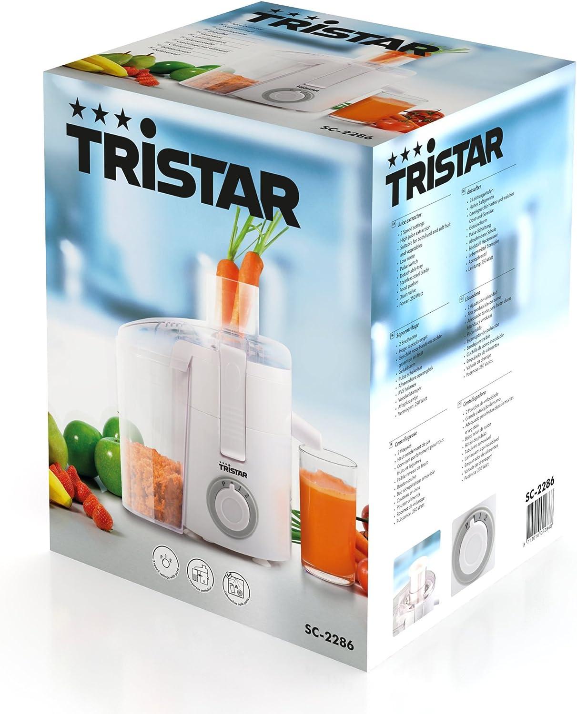 Tristar SC-2286 Licuadora 2 ajustes de velocidad, bandeja ...