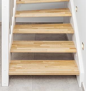 Anti Rutsch Streifen Treppe transparent gummiert anstatt Stufenmatte ...