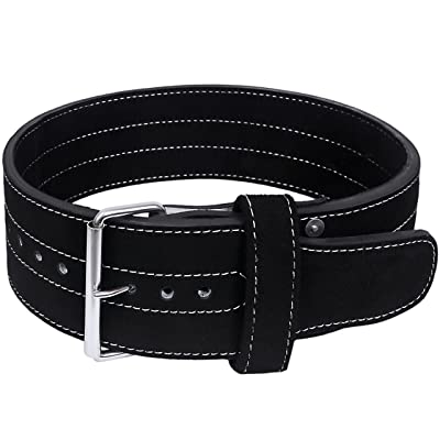 Hawk Single Prong Power Lifting Belt Men & Women Weightlifting Competition Weight Lifting 10mm IPF Powerlifting Belt!!!