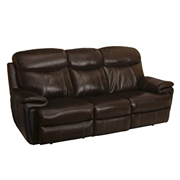 Amazon.com: Coja by Sofa4life Pendleton Leather Recliner ...