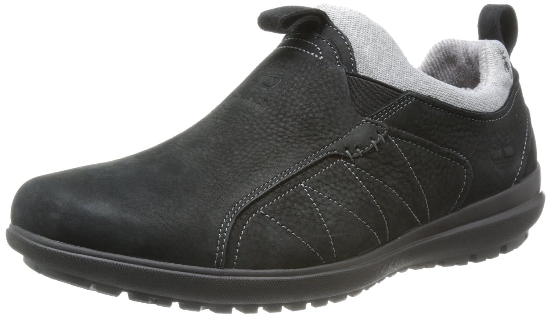 Timberland Mocasines de Piel Para Hombre Negro Negro, Color Negro, Talla 43: Amazon.es: Zapatos y complementos