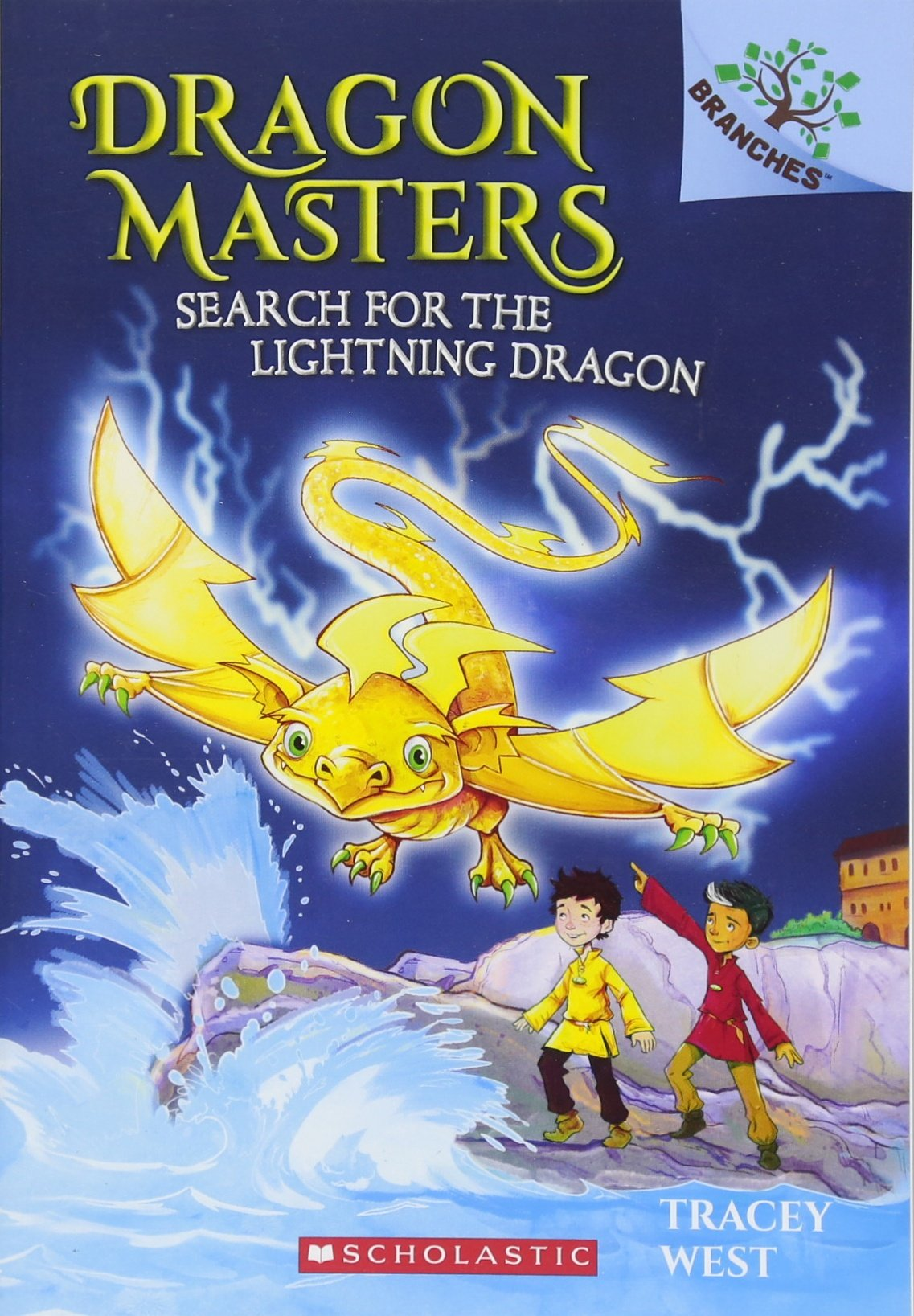 Read Online Search for the Lightning Dragon: A Branches Book (Dragon Masters #7) PDF