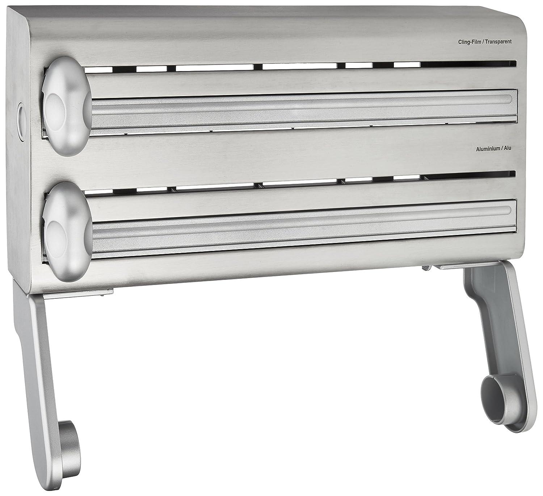 Kitchen Craft - Portarotoli in acciaio inossidabile Master Class, per carta da cucina, pellicola e alluminio MCMULTIDISPSS