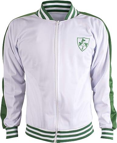JL Sport Irlanda Chaqueta de Chándal de Fútbol Retro con ...