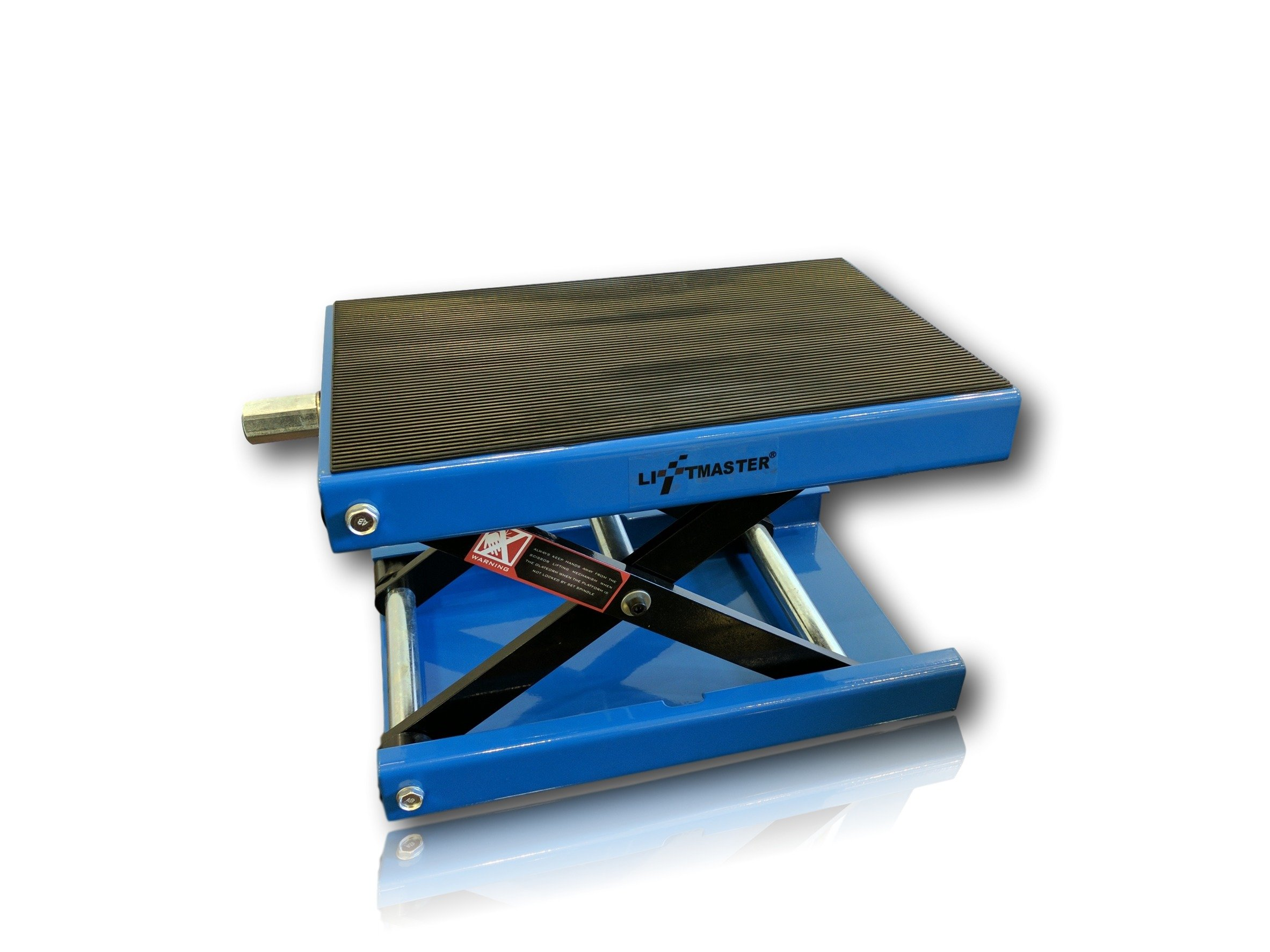 LiftMaster 1100 LB Wide Deck Motorcycle Center Scissor Lift Jack Hoist Stand Bikes ATVs by LiftMaster