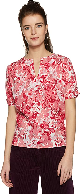 Harpa Women's Body Blouse Shirt Women's Blouses & Shirts at amazon