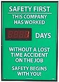 "NMC DSB2 Digital Scoreboard, ""Safety First - This"