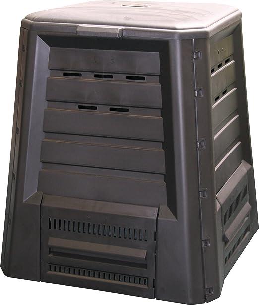 Xclou 343300 - Recipiente para hacer compost (340 L, plástico ...