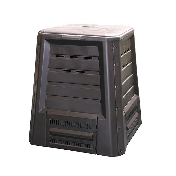 Xclou 343300 - Recipiente para hacer compost (340 L, plástico) [Importado de Alemania]
