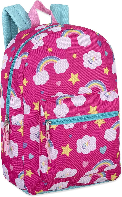 Boys and Girls Bulk Wholesale Backpacks 24 Pack of Wholesale 17 Inch Printed Bulk Backpacks For Kids