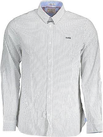 Guess Jeans M93H25W8BX0 - Camisa de manga larga para hombre ...