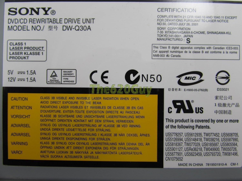 SONY DVD RW DW-U12A WINDOWS 10 DRIVERS
