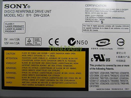 Sony DW-Q30A YYS6 Driver (2019)