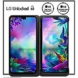 LG G8X Thinq Dual Screen Unlocked Smartphone – 6/128 GB – Aurora Black (US Warranty) – Verizon, AT&T, T–Mobile, Sprint…