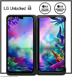 LG G8X Thinq Dual Screen Unlocked Smartphone – 6/128 GB – Aurora Black (US Warranty) – Verizon, AT&T, T–Mobile, Sprint, Boost, Cricket, Metro (Universal Compatibility)