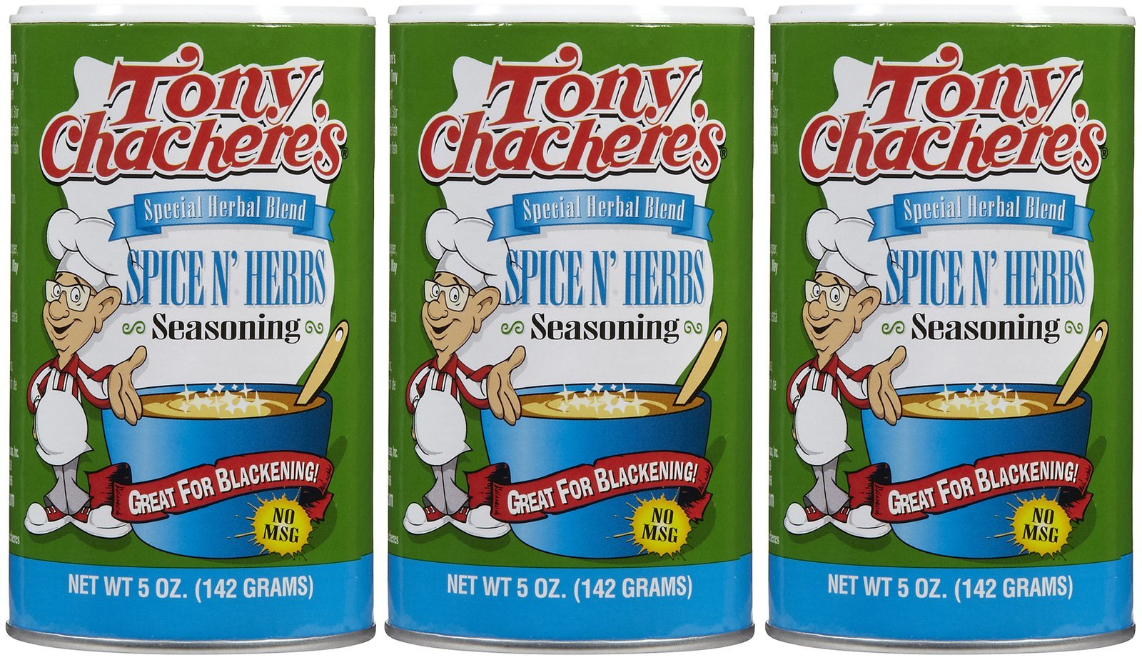 Tony Chachere's Spice N Herbs Pack Of 12