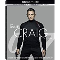 007: The Daniel Craig Collection [4K Ultra HD Blu-ray/Blu-ray/Digital Code]