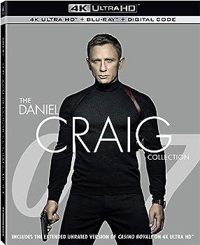 007: The Daniel Craig Collection [4K Ultra HD Blu-ray/Digital Code]