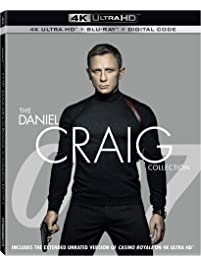 007 The Daniel Craig Collection 4k Ultra Hd
