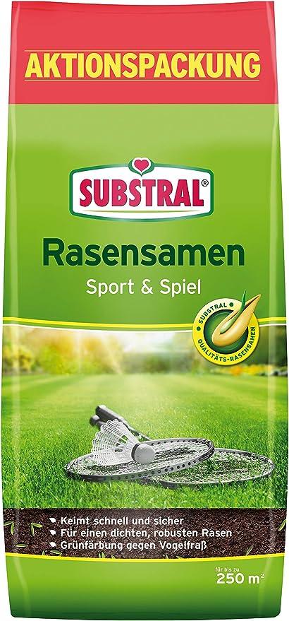 10 kg Substral Rasensamen Sport und Spiel Rasen Samen Raasensaat Sportrasen
