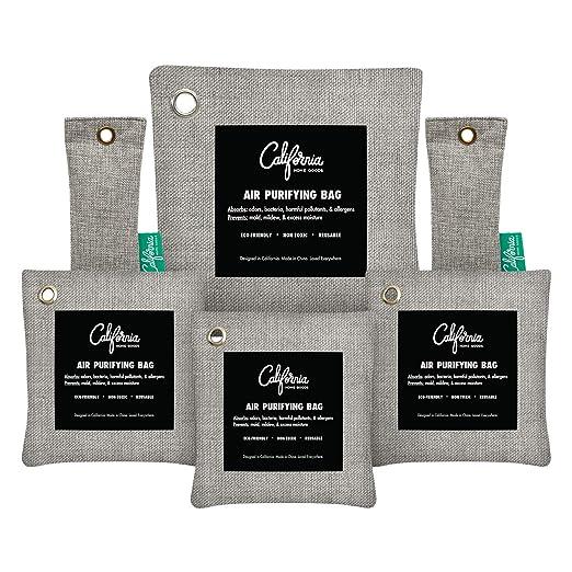 6 unidades - carbón Desodorizador neutralizador de olor ...