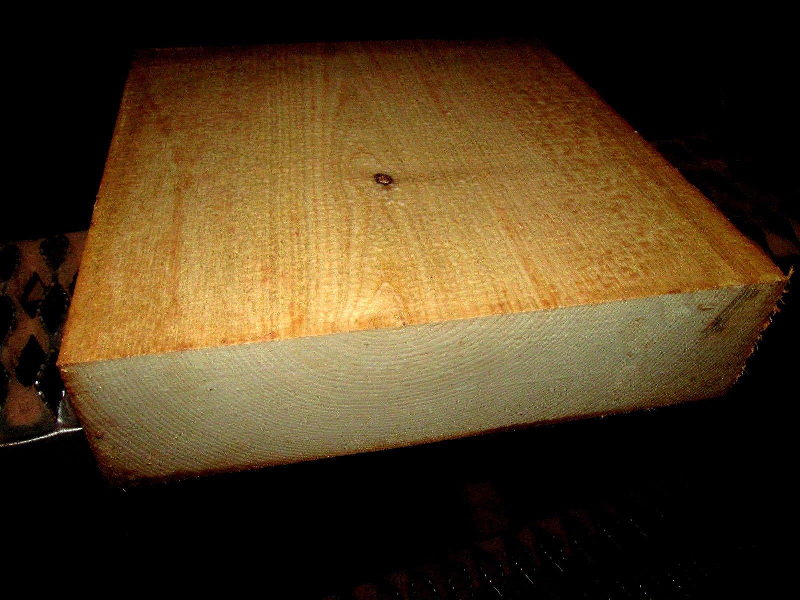 Nice Thick Sassafras Bowl Blanks Turning Blocks Lumber Wood Lathe 8 X 8 X 4''