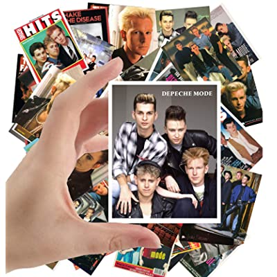 "Large Stickers (24pcs 2.5""x3.5"") DEPECHE MODE Electronic Music Posters Photos Vintage Magazine covers: Toys & Games"