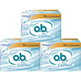 O.B Pro Comfort Super Tampons - 10 Pieces (Heavy Flow, Pack of 3)