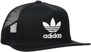 35d52594beb Image Unavailable. Image not available for. Colour  Adidas Men s Trefoil Trucker  Cap - Black